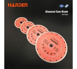HARDEN Диск алмазный сплошной 125 х 22.2 мм 611312