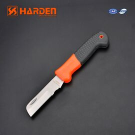 HARDEN Нож электрика прямой 195 мм (660103)