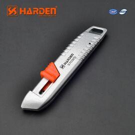 HARDEN Профессиональный универсальный нож в алюминиевом корпусе (570325)