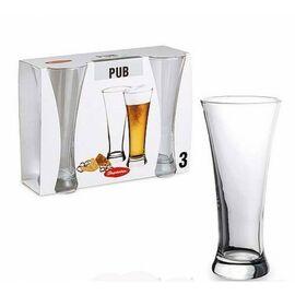 Набор бокалов для пива 3 шт Pasabahce Pub 41886 500ml, изображение 2