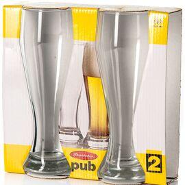 Набор бокалов для пива 2 шт Pasabahce Pub 42116B 300ml, изображение 2