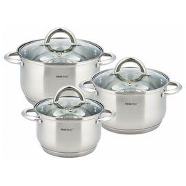 Набор посуды из 6 предметов Kinghoff KH-4446