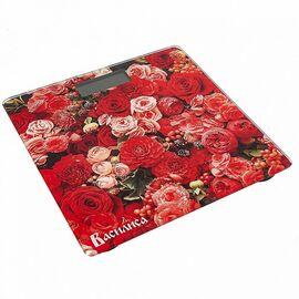 Весы напольные электронные Василиса ВА-4010 Цветы фото
