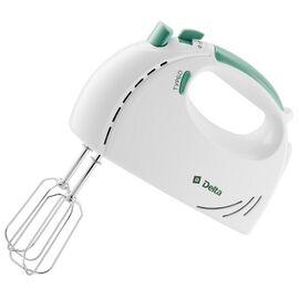 Миксер DELTA DL-5061 белый/зеленый, 300Вт фото