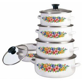 Набор посуды эмалированной 10 предметов Klausberg KB-7169