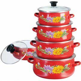 Набор посуды эмалированной 10 предметов Klausberg KB-7170