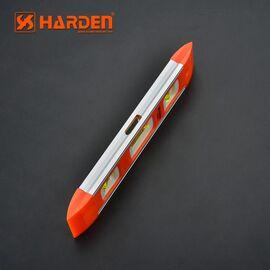 Уровень пластиковый с магнитной планкой 230 мм HARDEN 580521, изображение 2