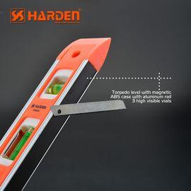 Уровень пластиковый с магнитной планкой 230 мм HARDEN 580521, изображение 3