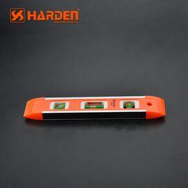 Уровень пластиковый с магнитной планкой 230 мм HARDEN 580521, изображение 4