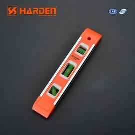 Уровень пластиковый с магнитной планкой 230 мм HARDEN 580521