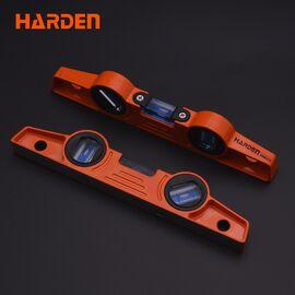 Уровень алюминиевый с магнитом 250 мм HARDEN 580522