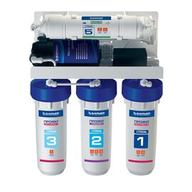 Водоочиститель бытовой (фильтр) обратноосмотический Барьер ПРОФИ Осмо 100 Boost