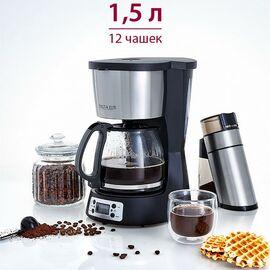 Кофеварка DELTA LUX DE-2000 черн. фото, изображение 2