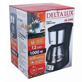 Кофеварка DELTA LUX DE-2000 черн. фото, изображение 11