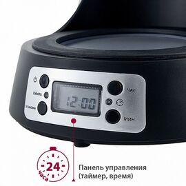 Кофеварка DELTA LUX DE-2000 черн. фото, изображение 5