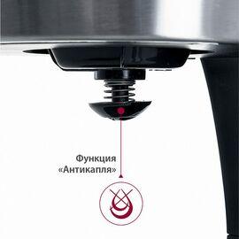 Кофеварка DELTA LUX DE-2000 черн. фото, изображение 7