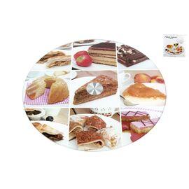 """Вращающаяся подставка для торта и десертов (тортовница) """"Десерт"""" Коралл 3200-1"""