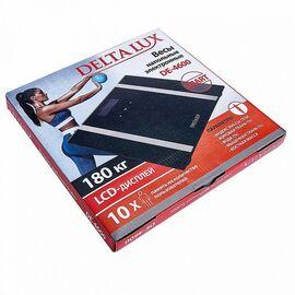 Весы напольные электронные DELTA LUX DE-4600 SMART черные фото, изображение 2