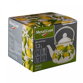 """Чайник (заварник) """"Лимоны"""" Metalloni EM-131X1/62, изображение 3"""