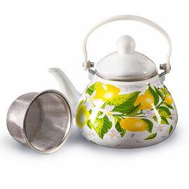 """Чайник с фильтром из нержавеющей стали """"Лимоны"""" Metalloni EM-131X1/62"""