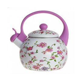 Чайник со свистком MetaLLoni Вьюнок EM-25101/17 фото