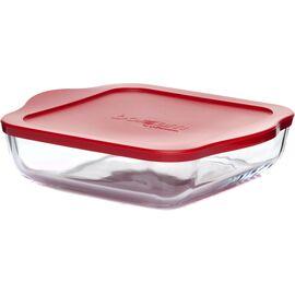 Форма для СВЧ с пластиковой крышкой Borcam 59034к, изображение 2