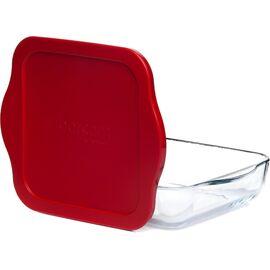 Форма для СВЧ с пластиковой крышкой Borcam 59034к