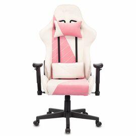 Игровое кресло Бюрократ VIKING X Fabric White-Pink (1428210) фото
