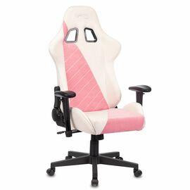 Игровое кресло Бюрократ VIKING X Fabric White-Pink (1428210) фото, изображение 5