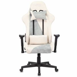 Игровое кресло Бюрократ VIKING X Fabric White-Blue (1428212) фото