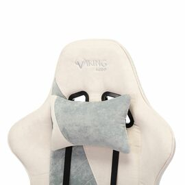 Игровое кресло Бюрократ VIKING X Fabric White-Blue (1428212) фото, изображение 10