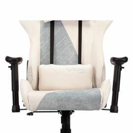 Игровое кресло Бюрократ VIKING X Fabric White-Green (1428211) фото, изображение 10