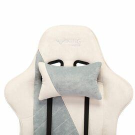 Игровое кресло Бюрократ VIKING X Fabric White-Blue (1428212) фото, изображение 7
