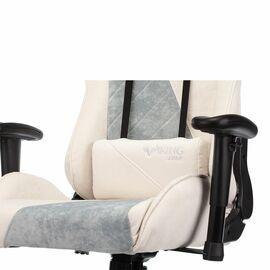Игровое кресло Бюрократ VIKING X Fabric White-Green (1428211) фото, изображение 13
