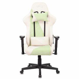 Игровое кресло Бюрократ VIKING X Fabric White-Green (1428211) фото