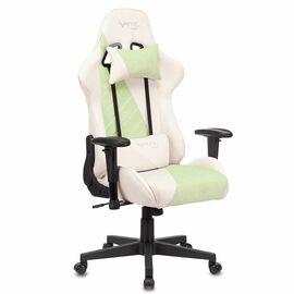 Игровое кресло Бюрократ VIKING X Fabric White-Green (1428211) фото, изображение 2