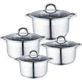 Набор посуды из 8 предметов Webber BE-339/8 фото