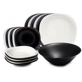 Сервиз столовый Luminarc Carine Black&White N1491, изображение 2