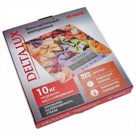 Весы кухонные DELTA LUX DE-002KE Фарфалле фото, изображение 2