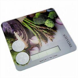 Весы кухонные DELTA LUX DE-003KE Витаминный микс фото