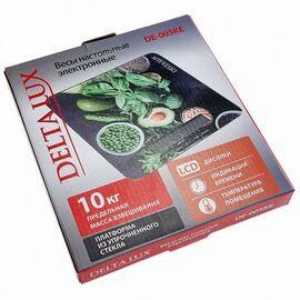 Весы кухонные DELTA LUX DE-005KE Салатный микс фото, изображение 2