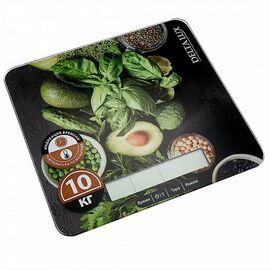 Весы кухонные DELTA LUX DE-005KE Салатный микс фото