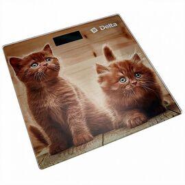 Весы напольные электронные DELTA D-9229 Рыжие котята фото