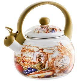 Чайник со свистком MetaLLoni Сицилия EM-25101/41