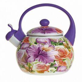 Чайник со свистком MetaLLoni Орхидея EM-25101/8 фото