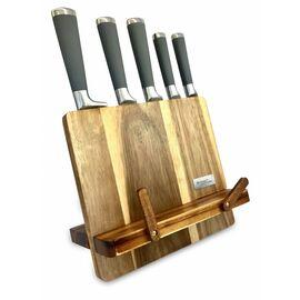 Набор из 5 ножей в блоке из акации Kassel 93306
