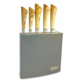 Набор из 5 ножей в лакированной деревянной колодке Kassel 93307
