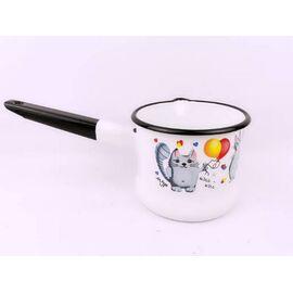 Набор посуды эмалированный детский КМЗ Кис-кис 40104-022/4 фото, изображение 2