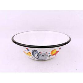 Набор посуды эмалированный детский КМЗ Кис-кис 40104-022/4 фото, изображение 3