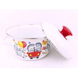 Набор посуды эмалированный детский КМЗ Кис-кис 40104-022/4 фото, изображение 5